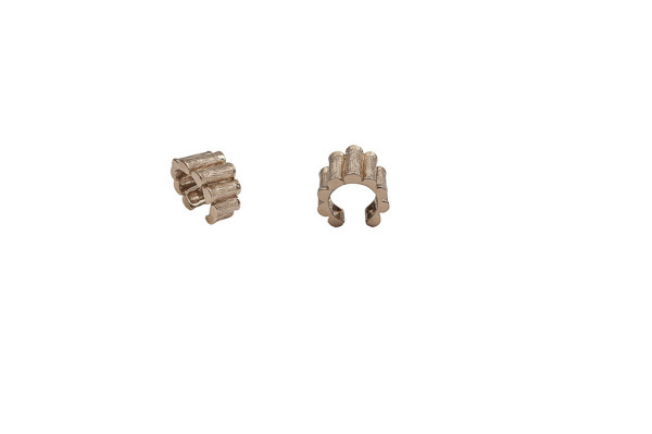 Bronze bamboo ring