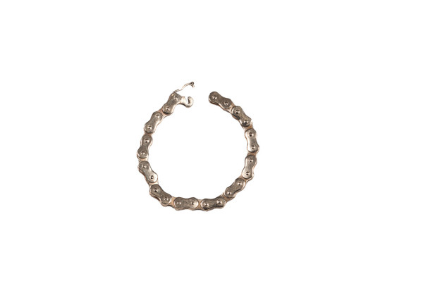Bike chain bracelet - man