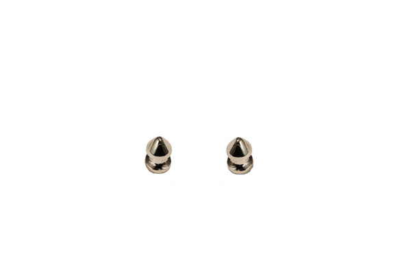 Studs bronze earrings
