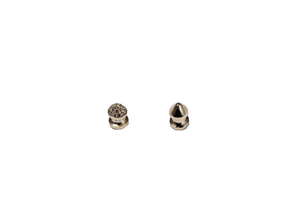 Studs yellow gold 1 stud pavé earrings