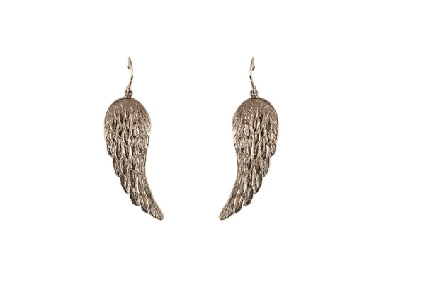 Bronze little wings earrings