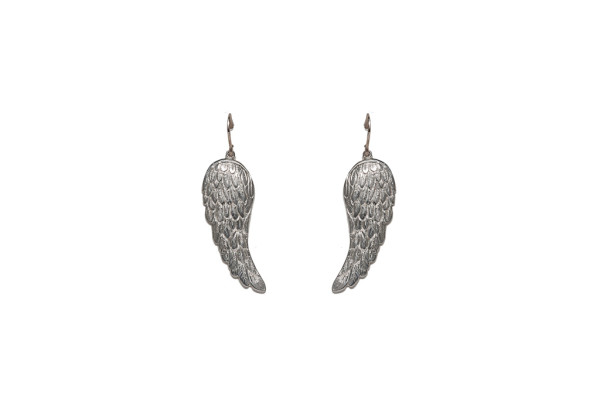 Silver little wings earrings