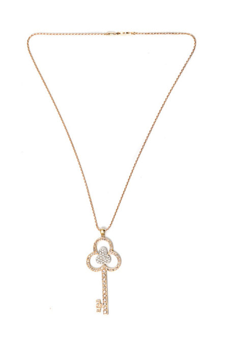 Flower Key necklace